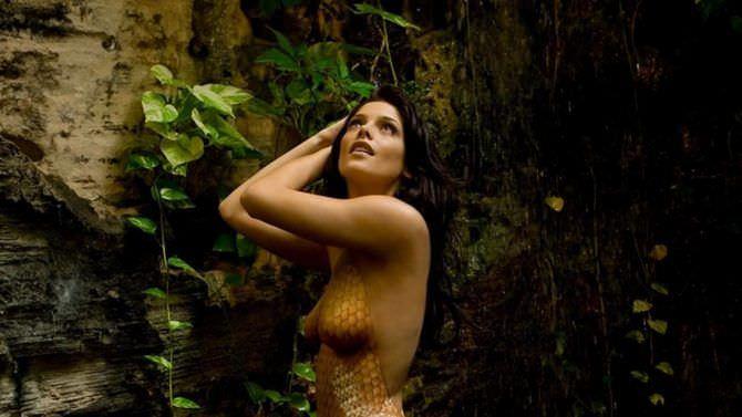 Эшли Грин фотосесси в лесу