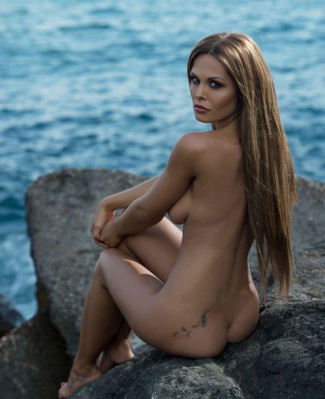 Мария Горбань фотография в мужском журнале