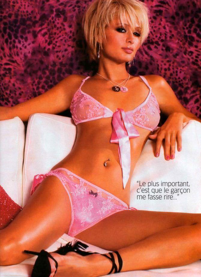 Пэрис Хилтон фотография из журнала