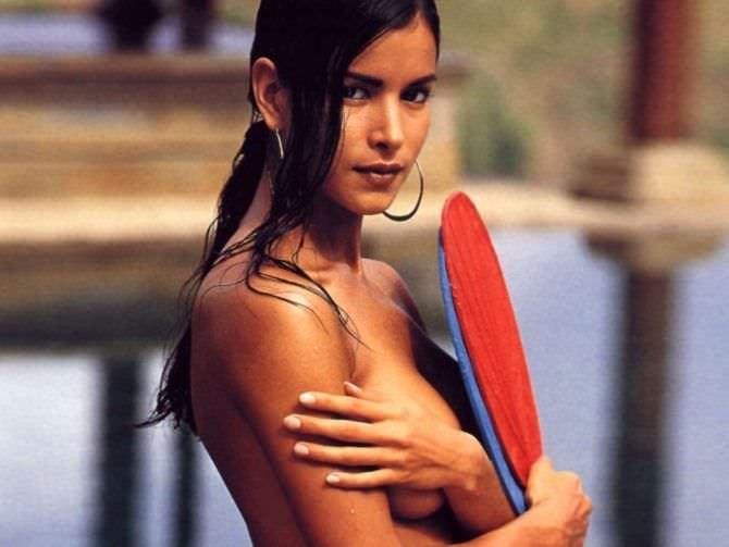 Патрисия Веласкес фото с веером