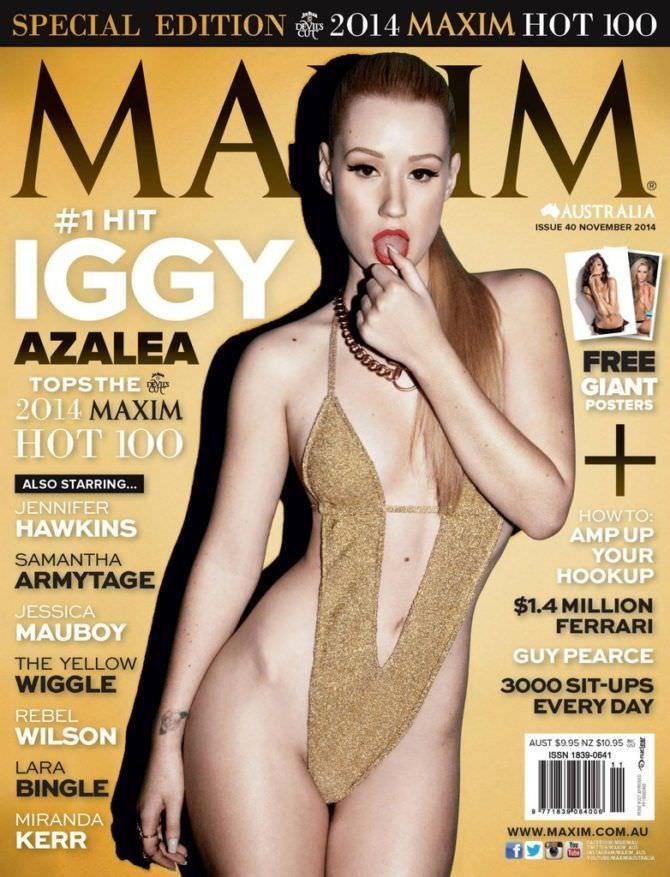 Игги Азалия фото с обложки журнала