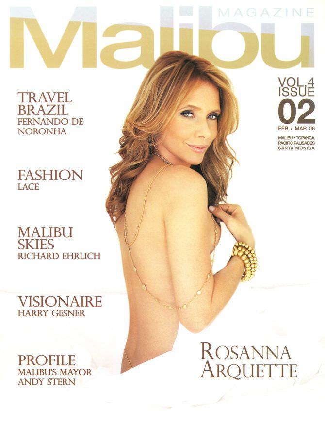 Розанна Аркетт фото с обложки