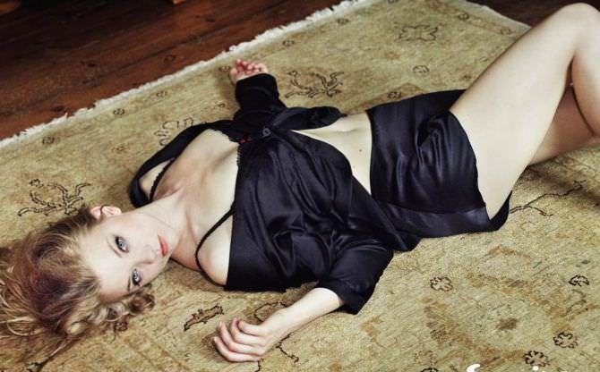 Натали Дормер фотография в пижаме