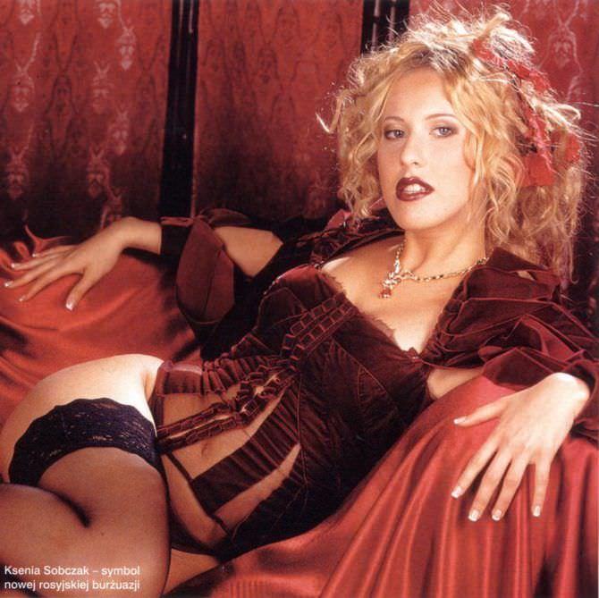 Ксения Собчак фото из журнала