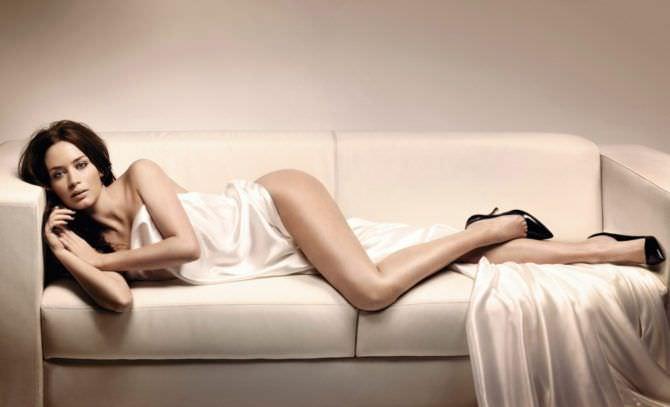 Эмили Блант фотография из журнала