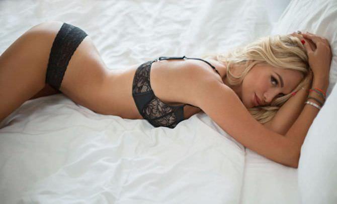 Виктория Лопырева фото в чёрном белье
