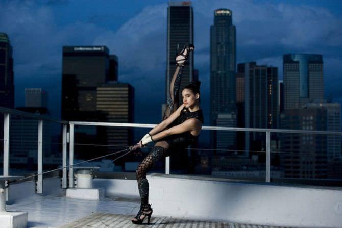 София Бутелла фотография на крыше