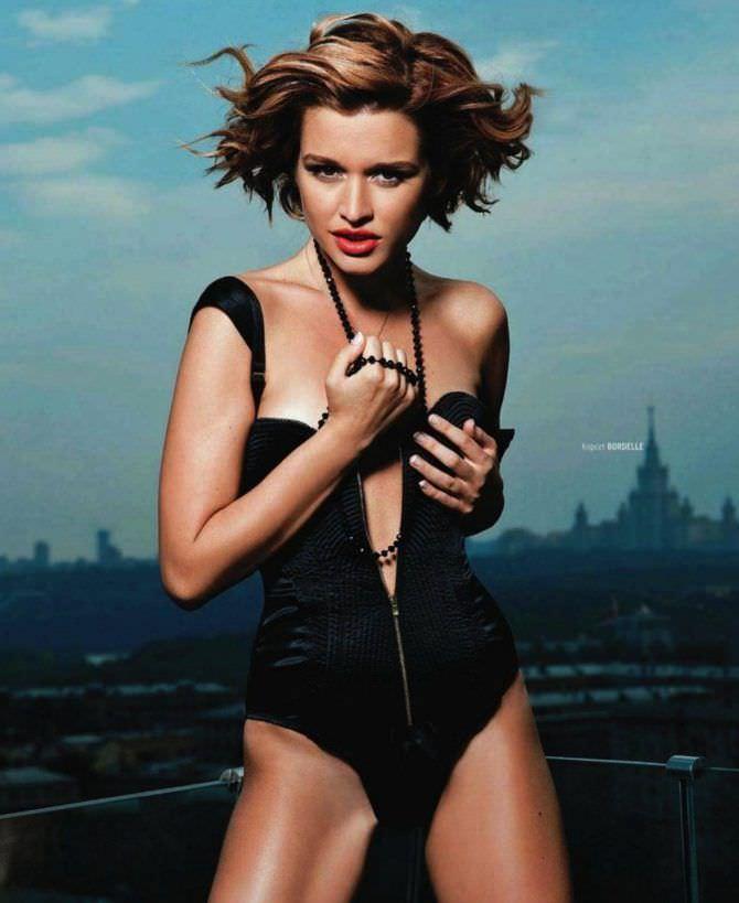 Ксения Бородина красивое фото в журнале плейбой