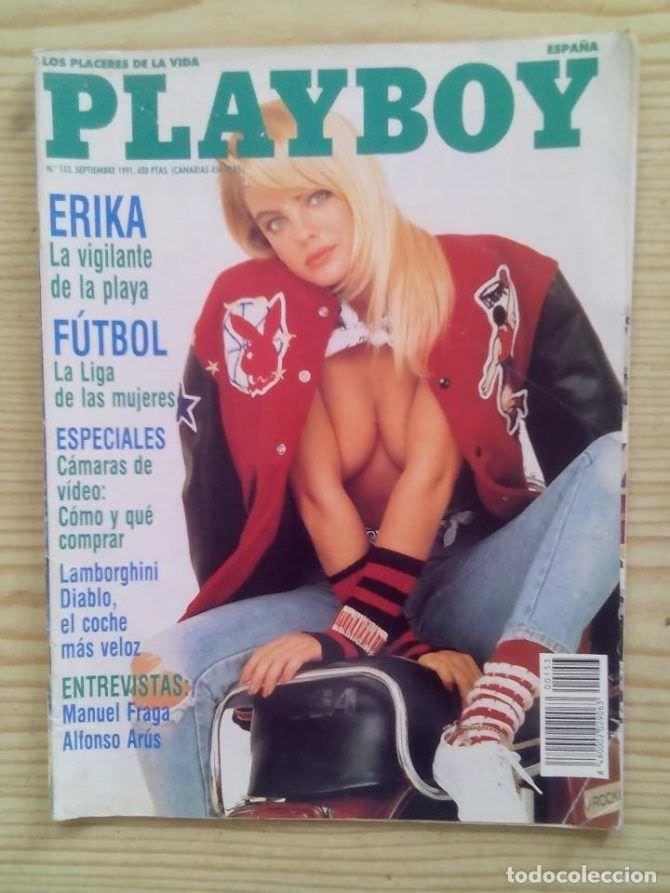 Эрика Элениак фотография на обложке 1991