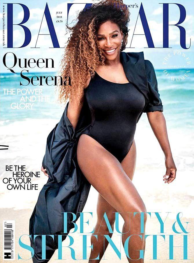 Серена Уильямс фотография с обложки журнала