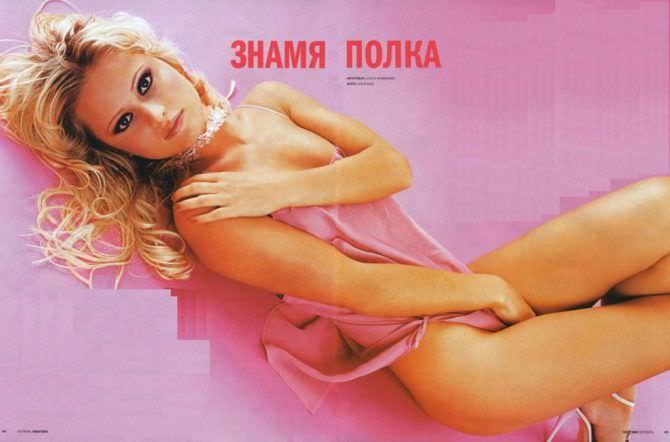 Дана Борисова фотосессия в мужском журнале
