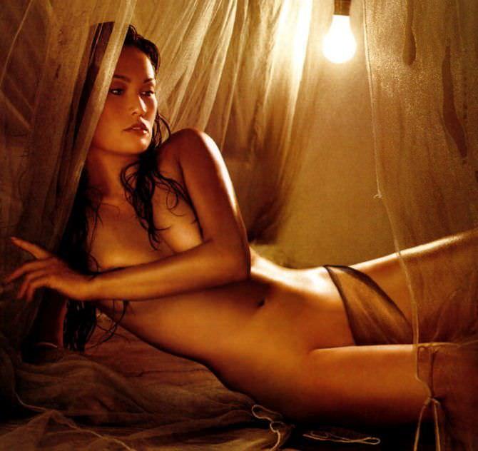 Тиа Каррере фото для мужского журнала
