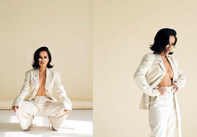 Бекки Джи фотосессия в пиджаке в инстаграм