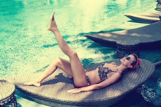 Полина Гагарина фото с отдыха