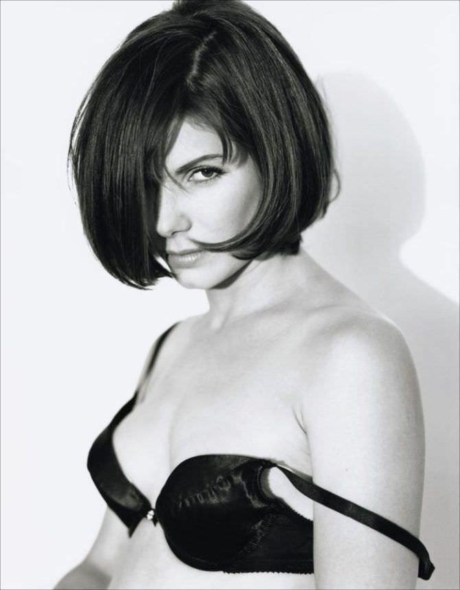 Сандра Буллок фотосессия в нижнем белье