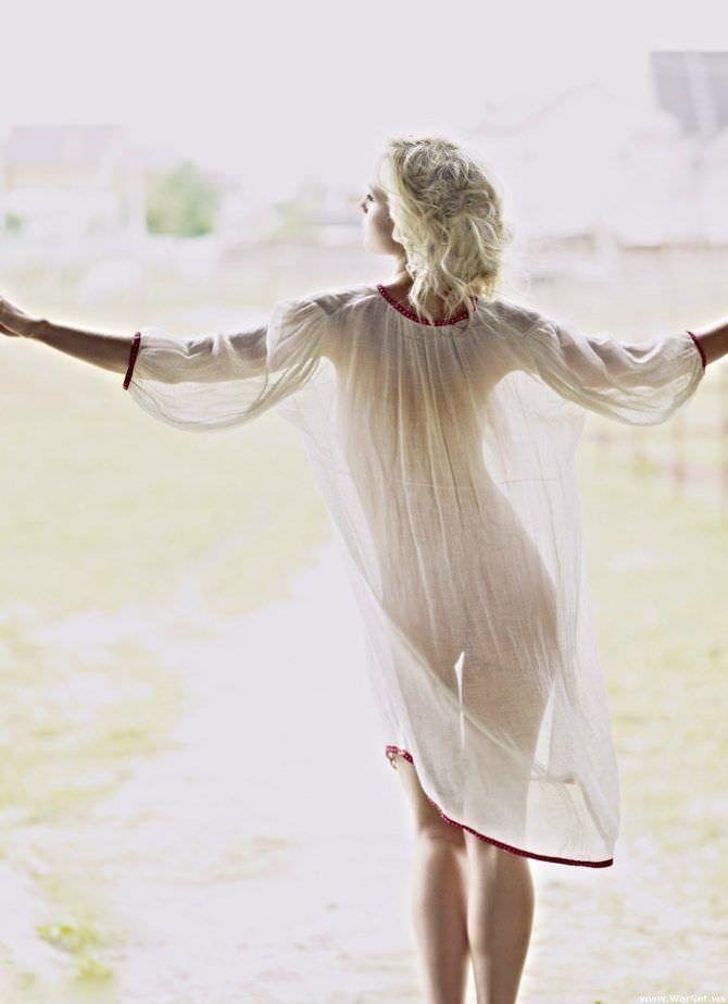 Полина Гагарина фото в лёгком платье