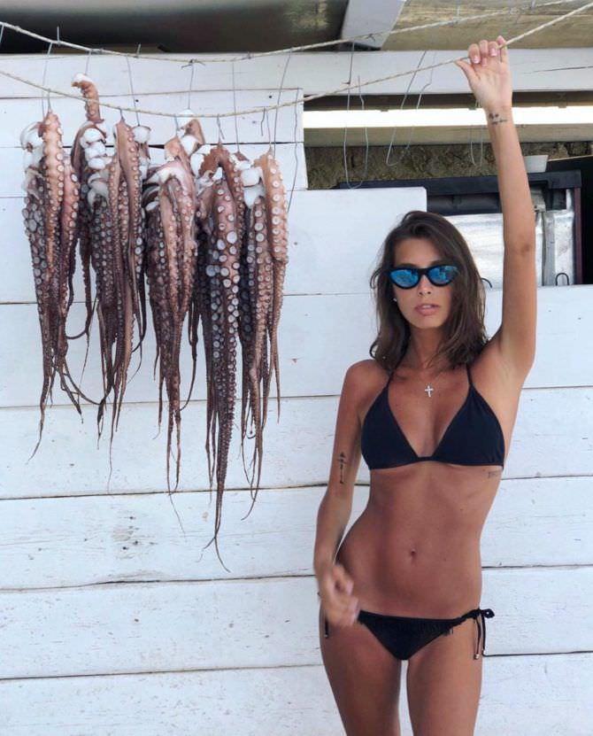Кэти Топурия фотография с осьминогами