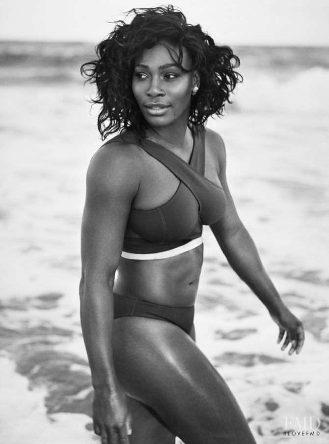 Серена Уильямс фотосессия в бикини на пляже