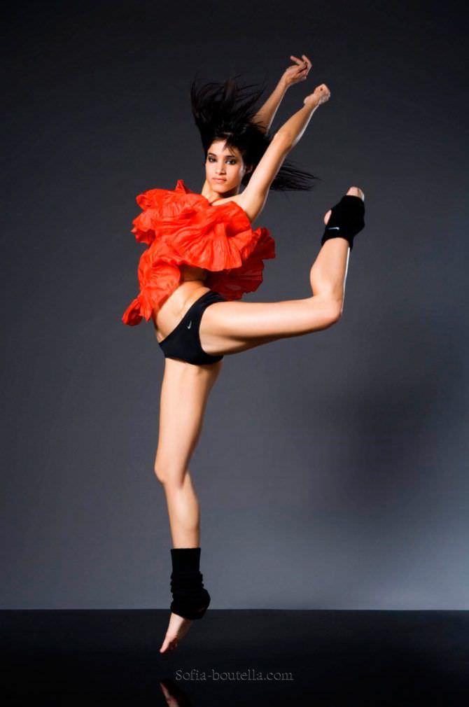 София Бутелла фото в движении
