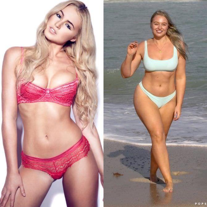 Искра Лоуренс фото до и после