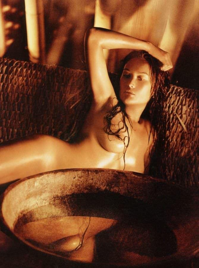 Тиа Каррере фотосессия в плейбой 2003