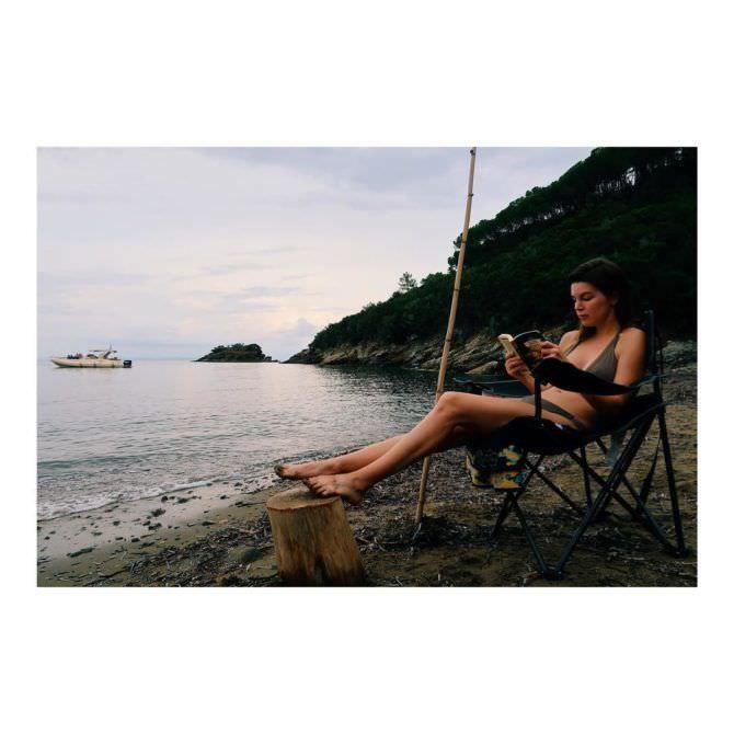 Оксана Сидоренко фото на пляже в инстаграм