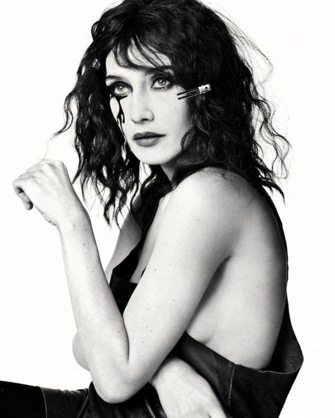 Кэрис ван Хаутен фотосессия с макияжем