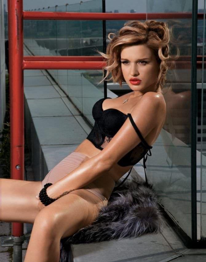 Ксения Бородина фотография в журнале 2011