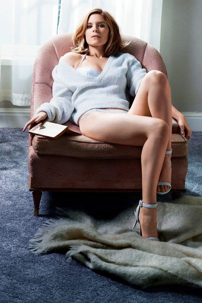 Кейт Мара фото в журнале в свитере