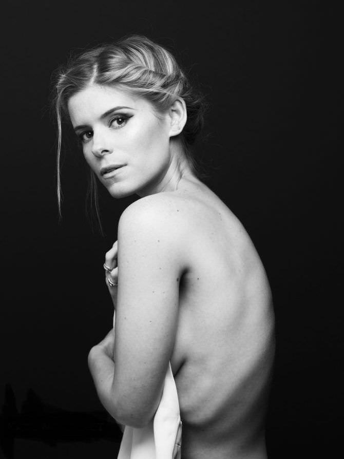 Кейт Мара фотография топлесс
