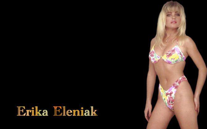 Эрика Элениак фотография в бикини