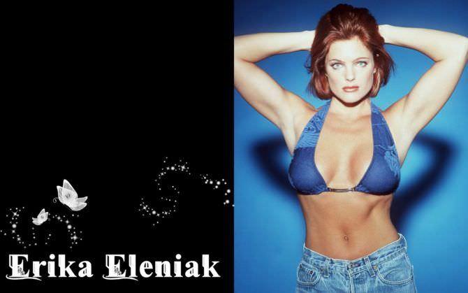Эрика Элениак фотография с рыжими волосами