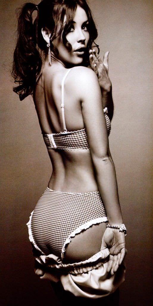 Эванджелин Лилли фото в стиле пин-ап для журнала