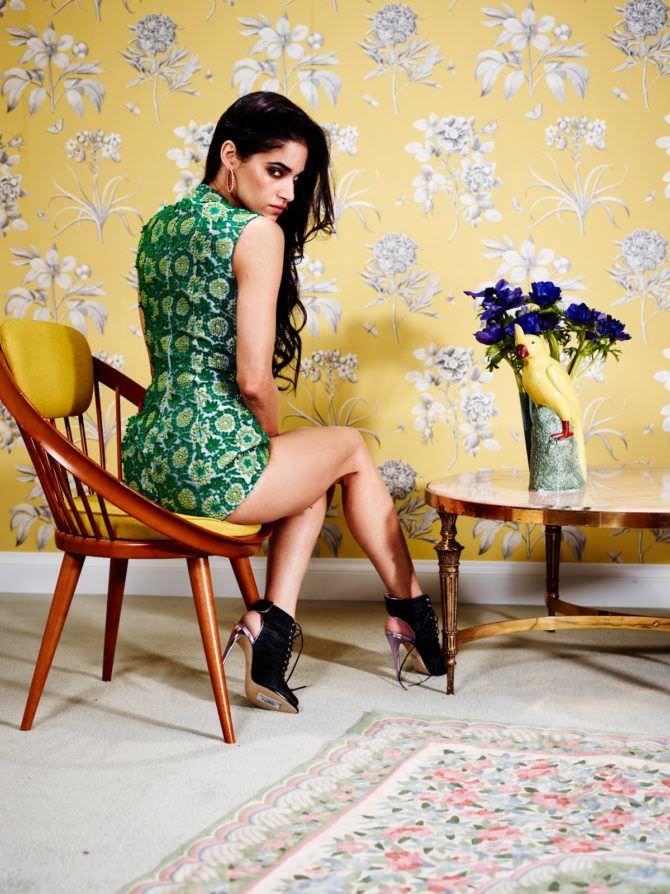 София Бутелла фото в зелёном боди