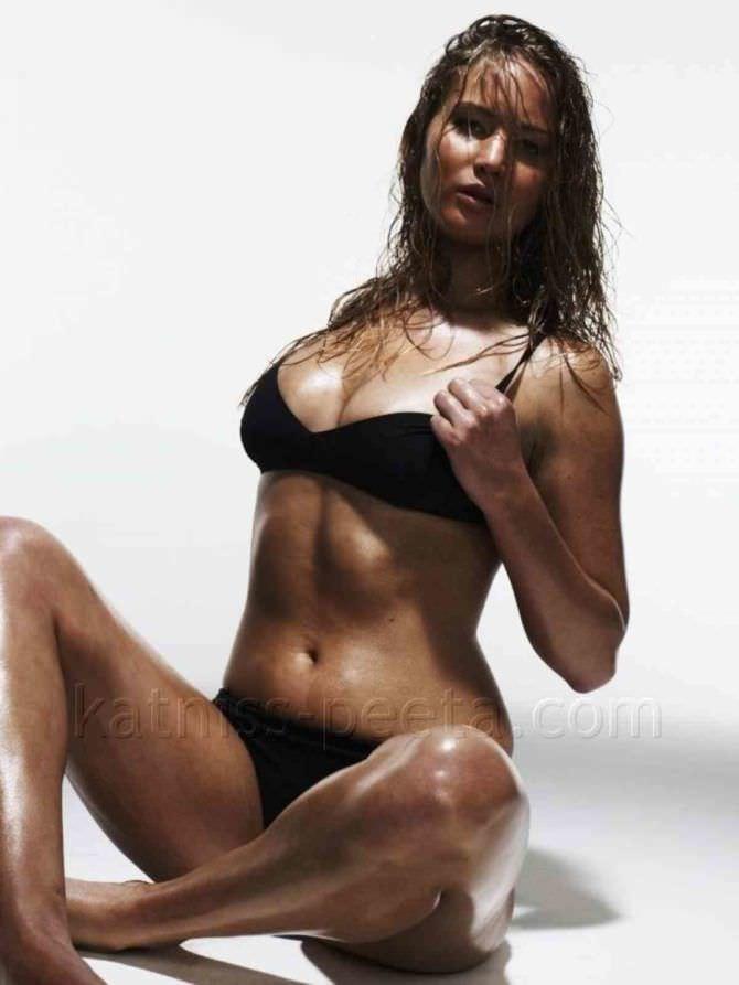 Дженнифер Лоуренс фотосессия в бикини для эскваер