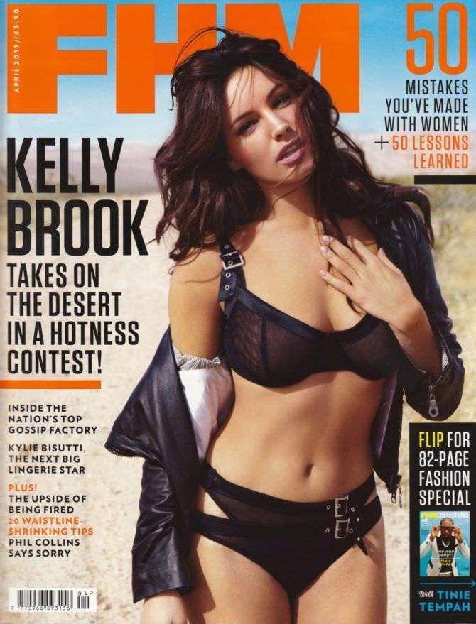 Келли Брук фотосессия для FHM