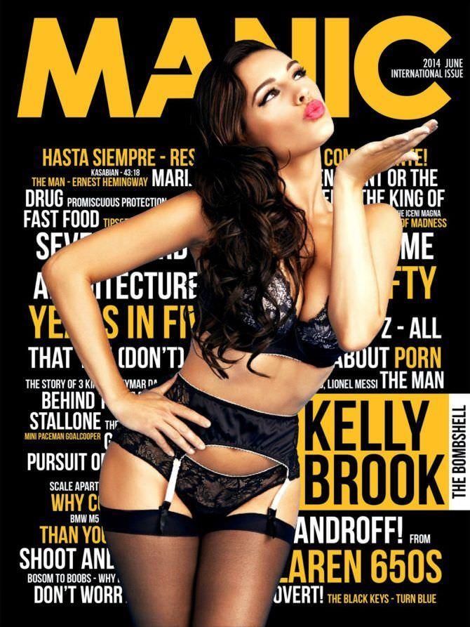 Келли Брук фото обложки журнала
