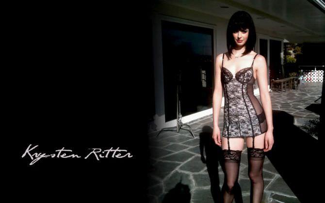 Кристен Риттер фотография в нижнем белье