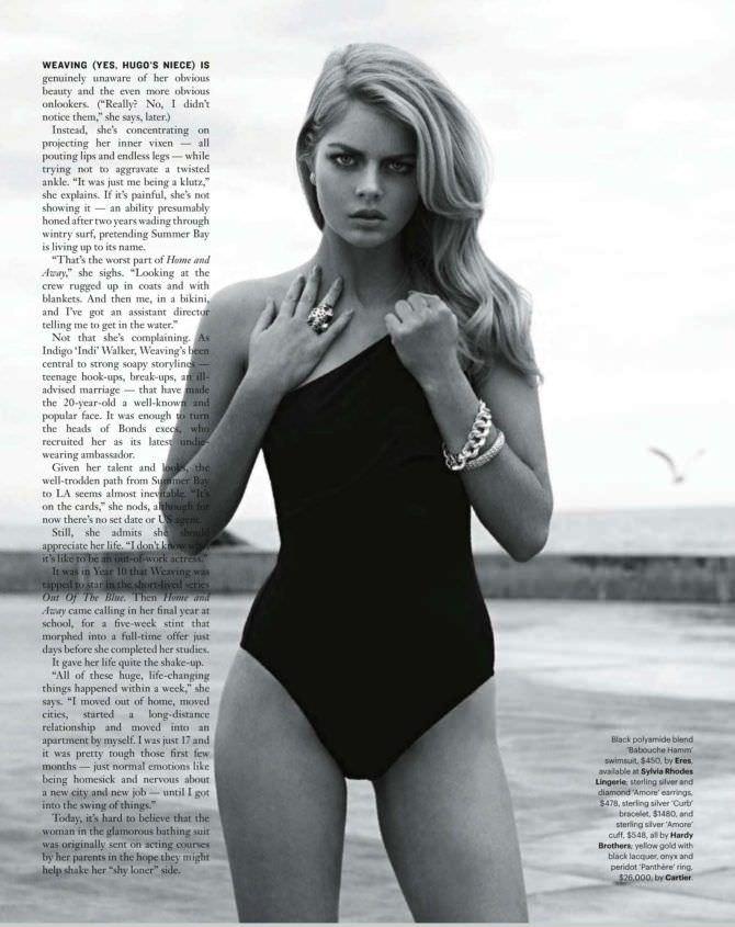 Самара Уивинг фотосессия в журнале 2012