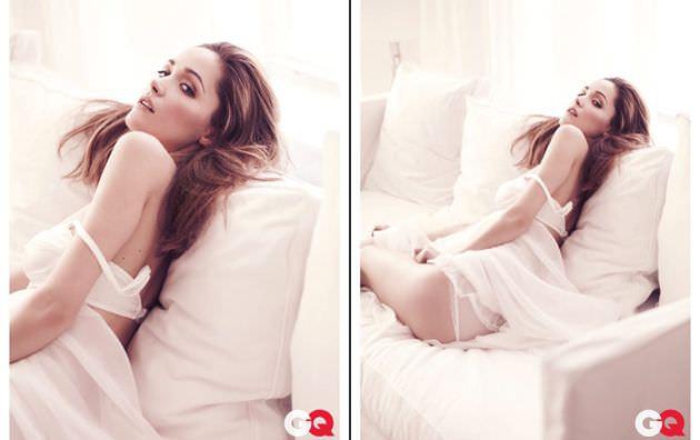 Роуз Бирн фотосессия в журнале в нижнем белье