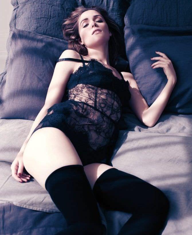 Роуз Бирн фото в GQ 2010