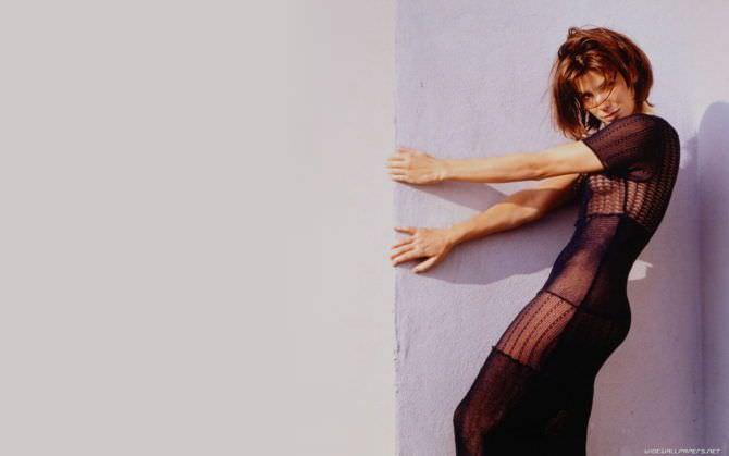Сандра Буллок фото в ажурном платье