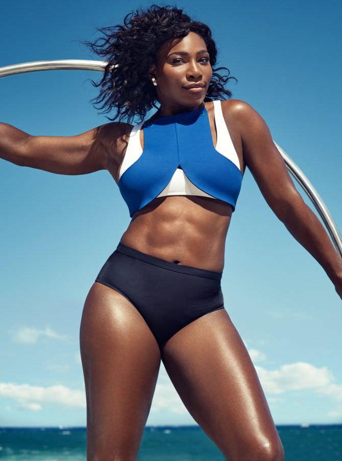 Серена Уильямс фото в спортивном купальнике