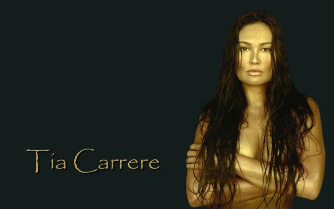 Тиа Каррере фотография из журнала 2006