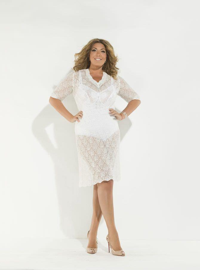 Екатерина Скулкина фотография в прозрачном платье