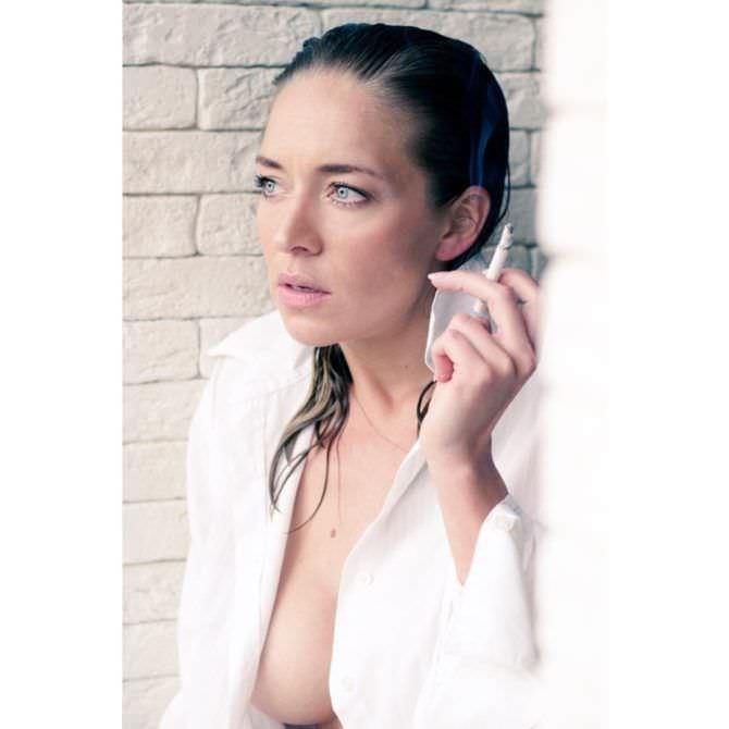 Серафима Низовская фото с мокрыми волосами