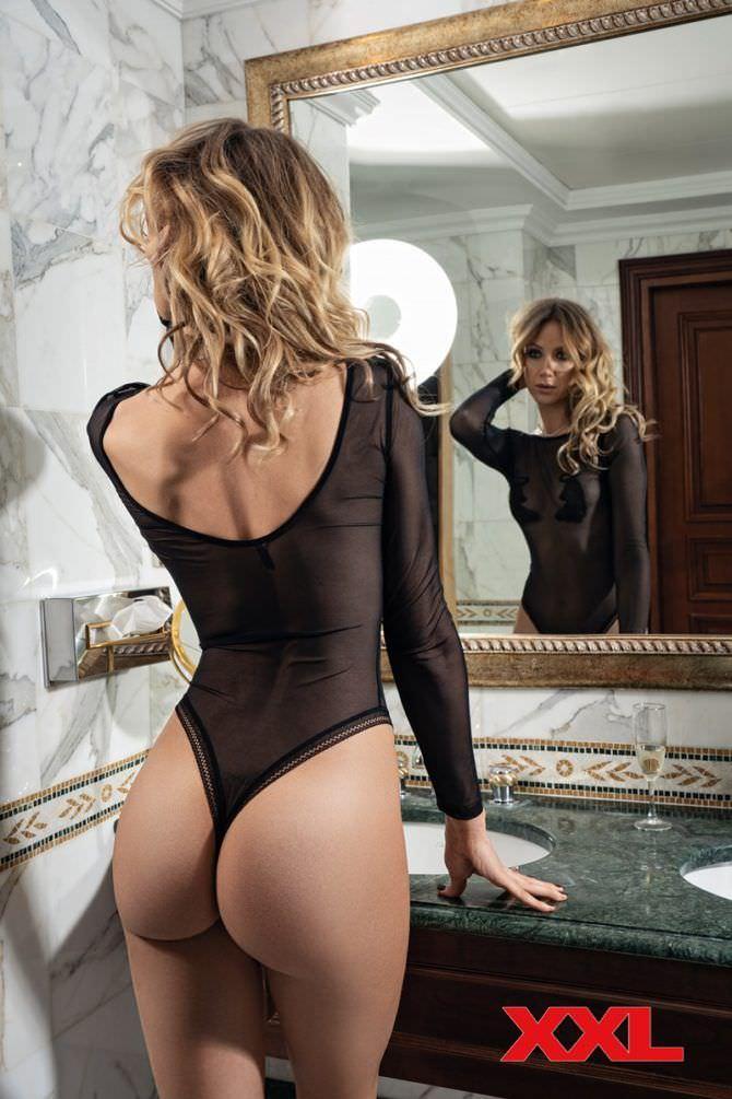 Леся Никитюк фотосессия в мужском журнале