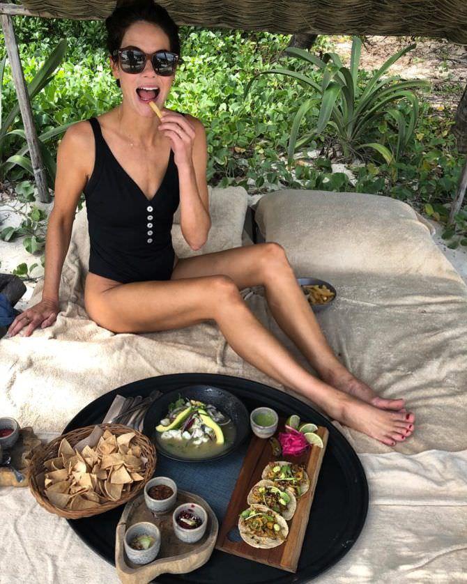 Мишель Монахэн фото в инстаграм с едой