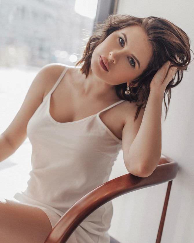 Анна Цуканова-Котт фотография в сорочке