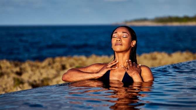 Кэндис Паттон фотография в воде